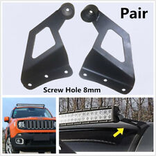Car SUV's Off-road Vehicle Roof LED Work Light Strip Bar Bracket Mounting Holder