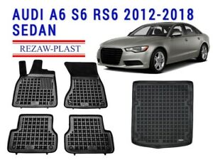 HEAVY DUTY CAR BOOT LINER COVER PROTECTOR MAT FOR AUDI A6 AVANT 05-11