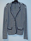 New Womens Ann Taylor Jacket Blazer size 10 stripe