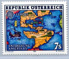 Österreich Austria 2062 500. Jahrestag Entdeckung von Amerika 1992 **