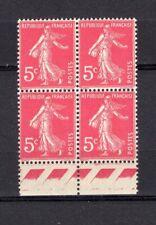 W911* Timbres France Neuf**MNH TBE Bloc de 4 SEMEUSE n°278B