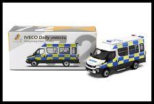 TINY 72 IVECO Daily ( AM8526 ) Hong Kong POLICE CAR  (Traffic)  1/76 New