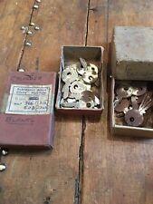 Vintage Classic Car Cylinder Blank Keys
