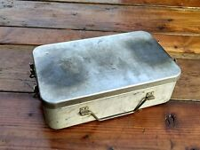 US AGMCO 1945 ARMY WW2 WWII PORTABLE GAS FIELD STOVE COMPLETE WITH ALUMINUM CASE