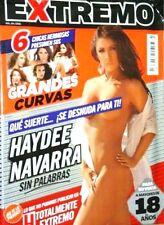 REVISTA H EXTREMO MEXICAN MAGAZINE HAYDEE NAVARRA 10/11 H PARA HOMBRES NEW SEALE