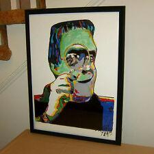 Herman Munster, Fred Gwynne, The Munsters, Frankenstein, 18x24 POSTER w/COA