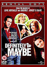 Definitely, Maybe [DVD], Good DVD, Elizabeth Banks,Liane Balaban,Nestor Serrano,