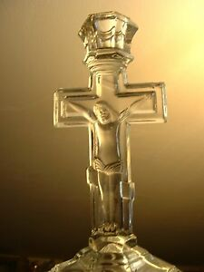 Maltsovsky candlestick with a crucifix.