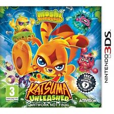 Moshi Monsters Katsuma Unleashed Game 3DS Nintendo 3DS, 2DS and 3DS XL Brand New