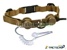 ZTactical Tactical Throat Mic Headset (Tan) Z033-DE