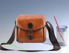 Hot Fashion PU leather Camera Bag DSLR for Nikon D90 D550 D600 D3100 D3200 D7000