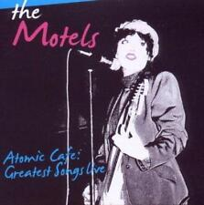 THE MOTELS ATOMIC CAFE - GREATEST SONGS LIVE 1979 & 80 (New & Sealed) CD