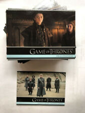 2018 Game of Thrones Season 7 COMPLETE BASE SET #1 - 100 Komplett