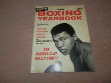True Boxing Yearbook Magazine Cassius Clay Muhammad Ali Cover 1965