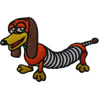 Disney Toy Story Slinky Dog Patch Embroidered Badge Iron Sew On T Shirt Bag Cap