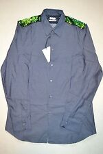 "Paul Smith LINEA PRINCIPAL Chambray Lentejuelas Camisa 16"" NUEVO"