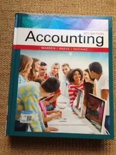 Accounting (BRAND NEW US HARDCOVER STUDENT 27/E; ISBN-13: 9781337272094)
