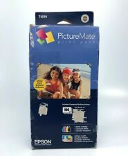 Epson EPST5570 - PictureMate Print Pack Inkjet Cartridge, 100 Sheets Photo Paper