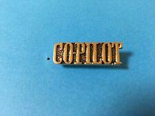 USAF CO-PILOT HAT PIN