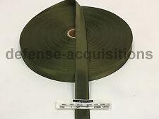 """5 YARDS OF 1"""" Inch MilSpec Webbing Binding MIL-W-27265 4088 OD7 T2"""