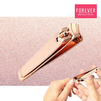 Rose Gold Elegant Touch Large Toe Nail Clippers Cutters Trimmer Nipper Finger UK