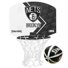Spalding Micro Mini Basket - BROOKLYN NETS