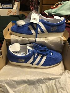 Adidas Gazelle Vintage Suede Blue - Sneakers - Mens 9.5 / Womens 11