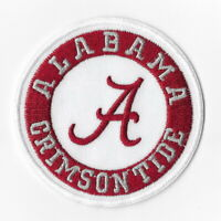 NCAA Alabama Crimson Tide Iron on Patches Embroidered Badge Patch Applique Sew