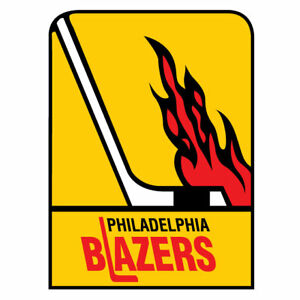 WHA Hockey Philadelphia Blazers Embroidered Sweatshirt Flyers S-5XL, LT-4XLT New