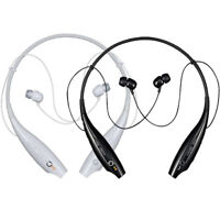 LG TONE HBS-700 Premium Bluetooth Wireless Stereo Headset Black - White LBT-700