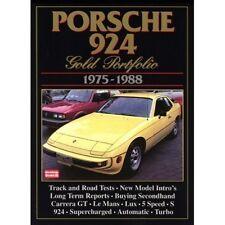 Porsche 924 Gold Portfolio 1975-1988 book paper