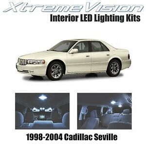 XtremeVision Interior LED for Cadillac Seville 1998-2004 (13 PCS) Cool White