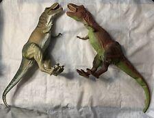 Vintage JURASSIC PARK Dinosaurs Action Figures Lot 1996 Kenner Trex JP09 JP28