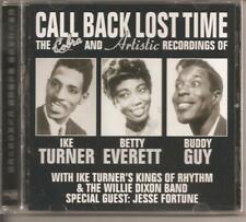 CALL BACK LOST TIME - CD-Cobra-Artistic Recordings-TURNER-EVERETT-GUY-BRAND NEW
