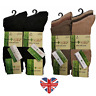 MENS LUXURY BAMBOO NON ELASTIC SOCKS, SUPER SOFT, LOOSE TOP, ANTI BACTERIAL 6-11