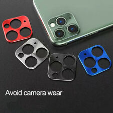For iPhone 11 Pro Max Protective Metal Frame Camera Lens Protector Ring Guard