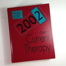Conns Current Therapy 2002 Rakel Bope Medical Reference Diagnosis Plan Treatment