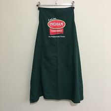 Ingham Food Service Promo Work Staff Green Apron