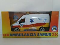 1/43 SIMILAR MERCEDES SPRINTER AMBULANCIA SAMUR COCHE ESCALA SCALE DIECAST 1/46