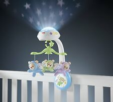 Fisher-Price Butterfly Dreams 3-in-1 Projection Mobile Baby Sensory Cot Crib Toy