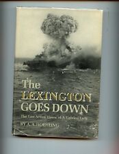 THE LEXINGTON GOES DOWN - Last Seven Hours of a Fighting Lady,Hoehling, HBdj VG