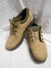 Excellent Timberland Men's Beige Leather Hiking Shoes Size 10 M
