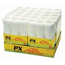 "PX Pro Microfiber Paint Roller Cover 3 Pack 9"" Wide 3/8"" Nap RC75933 Case of 10"