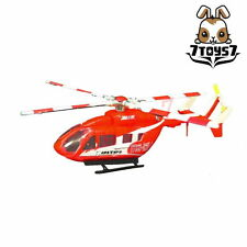 F-Toys 1/144 Heliborne Col 8 #3A BK117-C2 Kobeshi Koukun Kidoutain Red FT051G