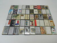 50 Cassette Tapes Mixed Rock Love Pop Country More 1970s 1980s 1990s Tape - TL-3