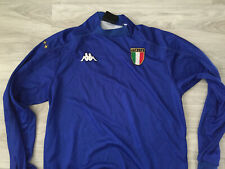 KAPPA -Men's ITALY 2000 Fotball Home Longsleeve Jersey  -Size L