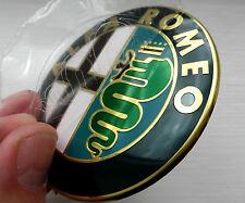 NUOVO Logo Cofano Badge Emblema si adatta ALFA ROMEO MITO 147 156 159 166 GTV & SPIDER