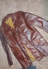 FIGHT CLUB LEATHER JACKET. OLD SCHOOL, SLIM FIT JACKET, NOT A NEW KNOCKOFF.