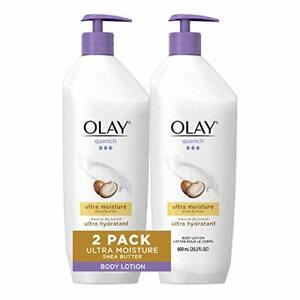 Quench Body Lotion Ultra Moisture with  Butter and and B3, 20.2 oz (Pack of 2)