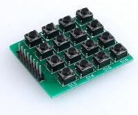 4x4 Keypad MCU Accessory Board Matrix Keyboard 16 Key Buttons For Arduino 1631Z